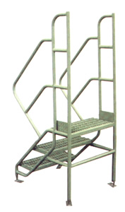 Access Ladders with Adjustable Feet